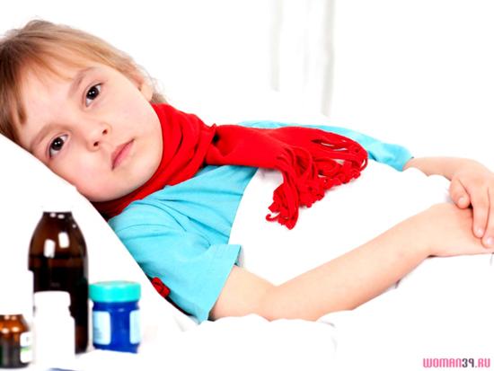 Как лечить герпесную ангину у детей?