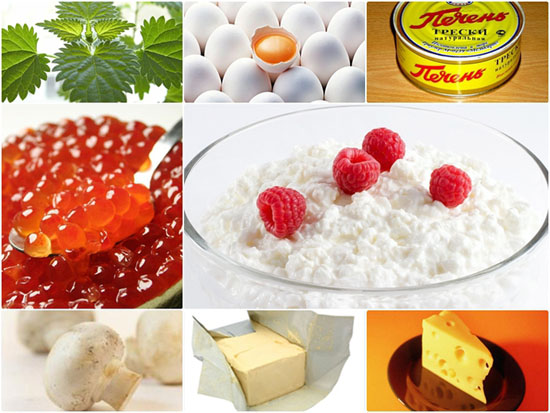 Витаминная диета: в каких продуктах содержится витамин d?