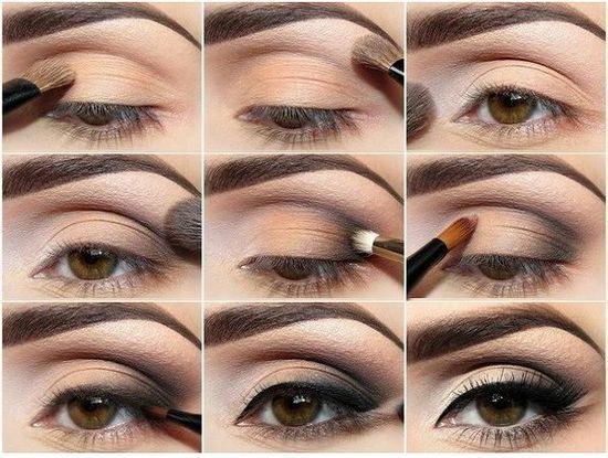 Как сделать красивый макияж для чисто-карих глаз?