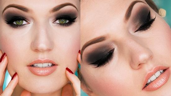 Насыщенный макияж