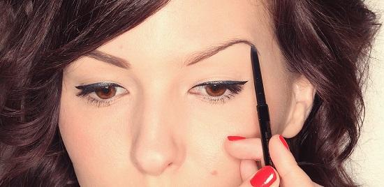 Как сделать макияж для бровей карандашом в домашних условиях?