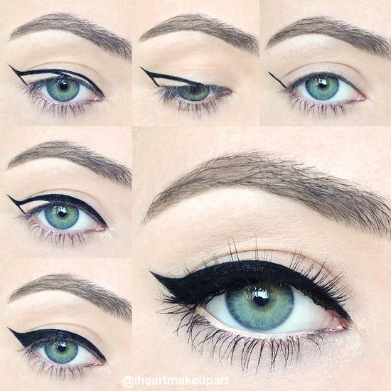 Как сделать макияж для голубых глаз различной формы