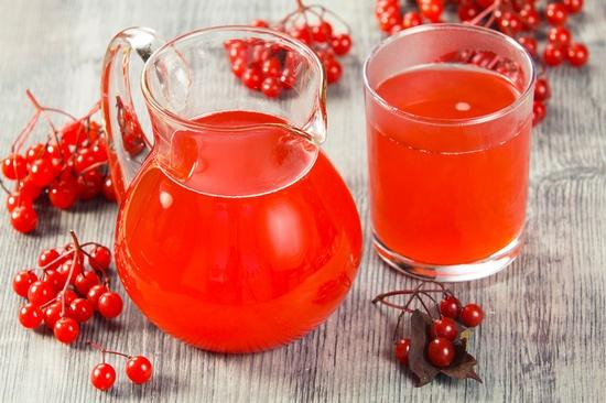 Калиновый сок с медом