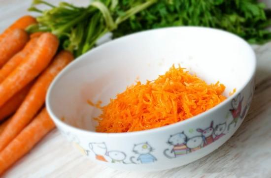 Польза тертой моркови