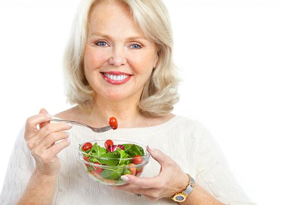 Питание у женщин при климаксе с приливами