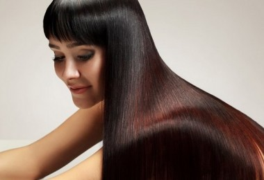 Выпрямление волос без утюжка и фена