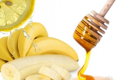рецепт маски для лица из банана с медом и свежевыжатым соком лимона