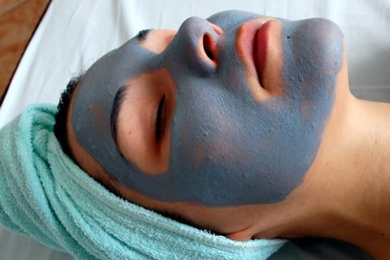 Как сделать маску из голубой глины
