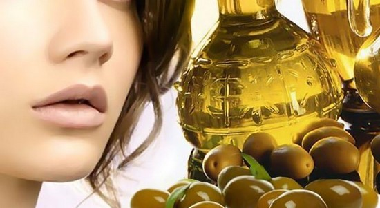Маска для упругости сухой кожи лица с оливковым маслом
