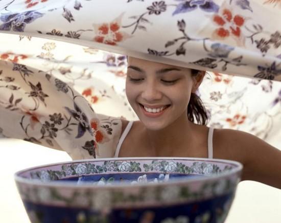 Как сделать паровую ванну для лица