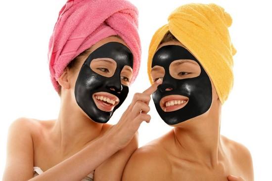маски для лица из угля