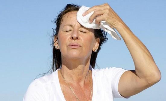 Запах климакса во время приливов