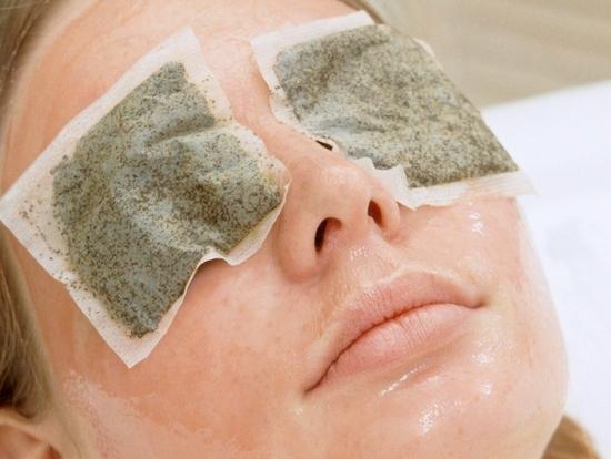 Травяные компрессы на глаза
