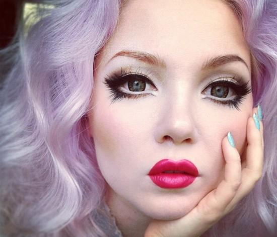 Как увеличить глаза макияжем