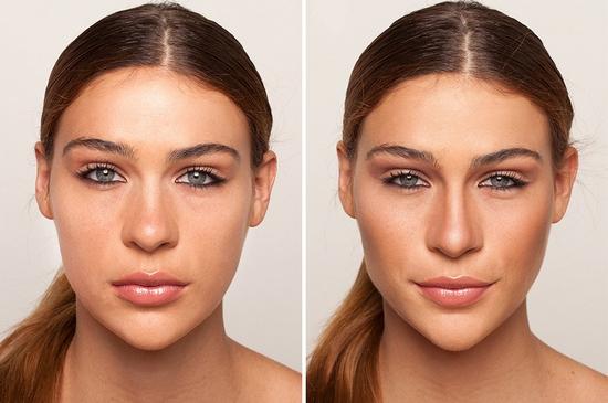 Как с помощью макияжа сделать нос тоньше