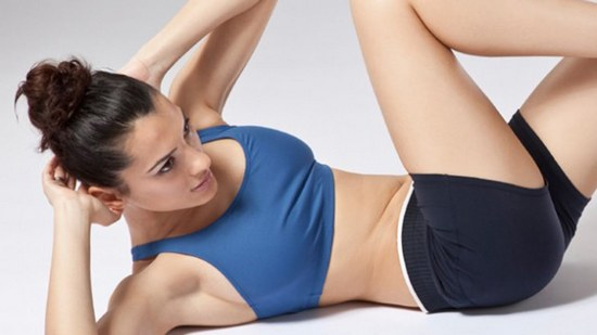 Упражнения для косых мышц пресса