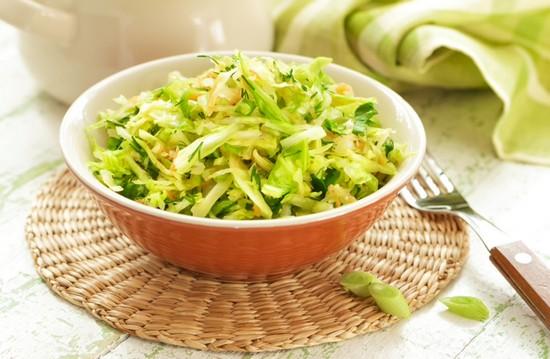 салаты из китайской капусты