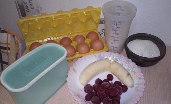 Для начала подготовим все продукты