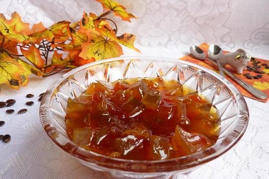 варенье из арбузных корок с апельсином