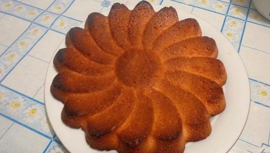 пирог из киселя сухого