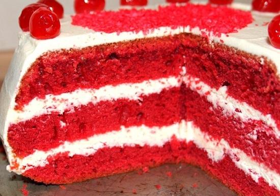Рецепт торта «Красный бархат»