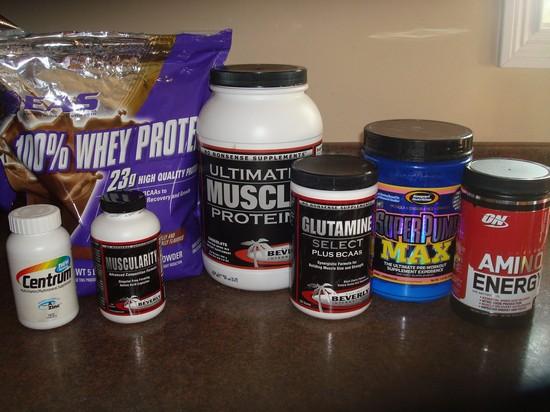 Спортивное питание для набора мышечной массы2