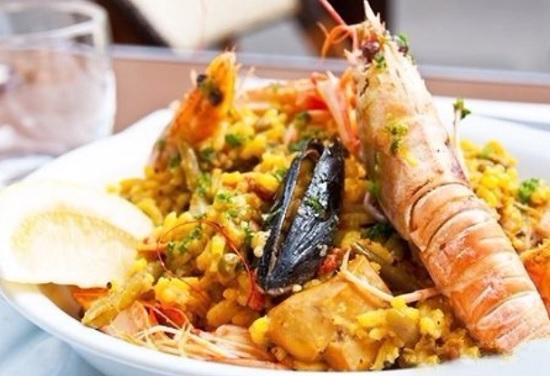 Рецепт классический паэльи с курицей и морепродуктами