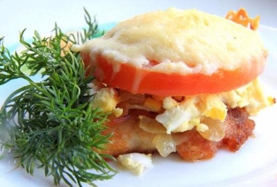 Классический рецепт рыбы по-гречески