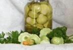 Патиссоны маринованные хрустящие: рецепты с фото на зиму