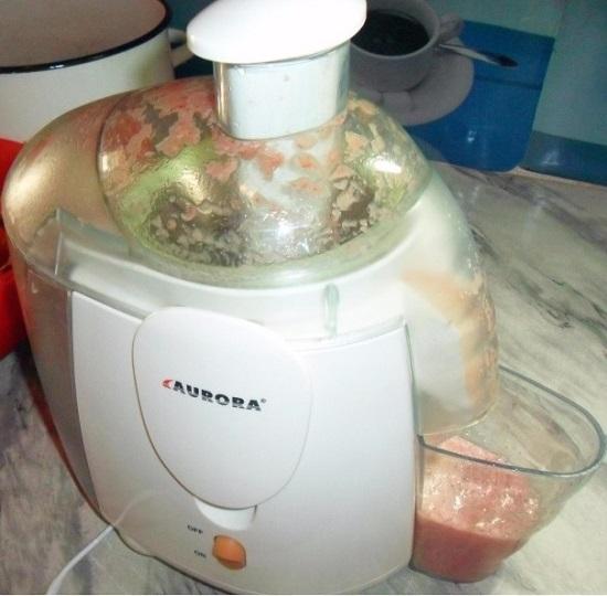 перерабатываем томаты в сок