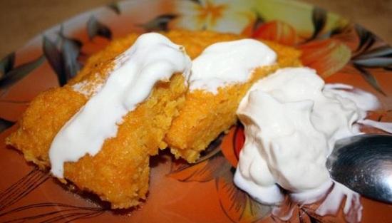 Как приготовить вкусную запеканку из моркови