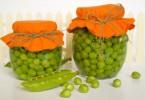 Зеленый горошек, консервированный на зиму: рецепты домашние