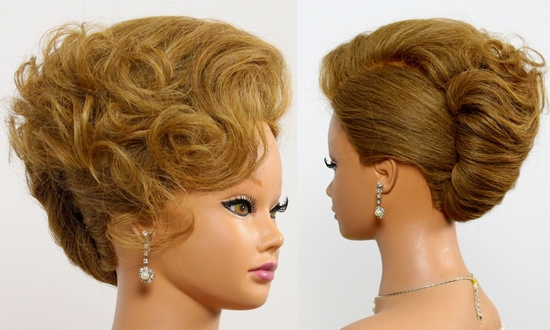 French Twist Hairstyles French Twist Hairstyle For Long Medium Hair Bridal Updo Youtube