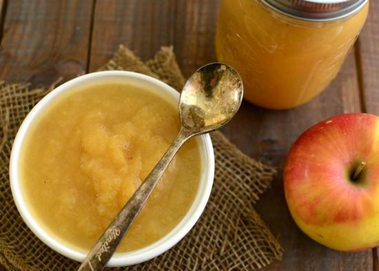 Яблочное пюре на зиму: для детей, простое, со сгущенкой