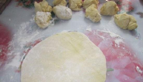 Тесто для кыстыбый с картошкой по-татарски
