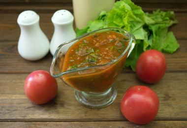 Соус для котлет (куриных, мясных, рыбных): рецепты с фото