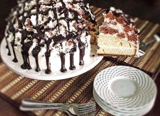 Торт из безе «Графские развалины»: рецепт с пошаговыми фото
