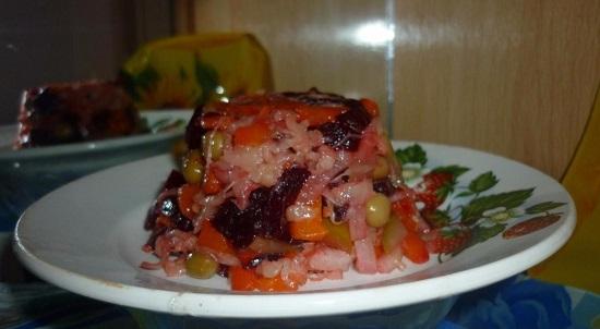 Диетический салат без майонеза