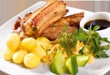 Тушеная картошка с ребрышками: рецепты пошаговые с фото