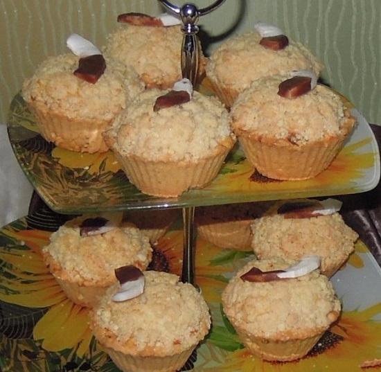 песочное пирожное «Корзиночка»