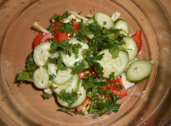 петрушка в салат