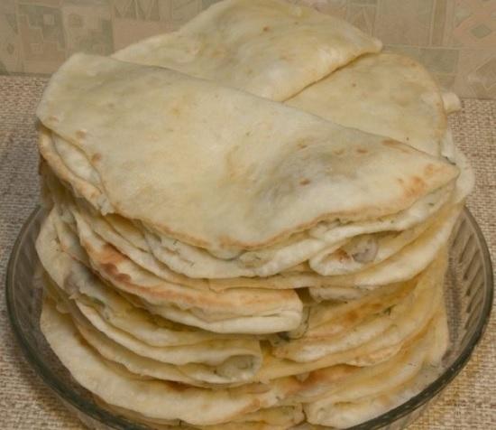 Кыстыбый - вкусные татарские лепешечки с картошкой