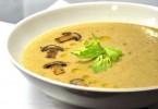 Грибной суп из опят (замороженных, луговых, сушеных)