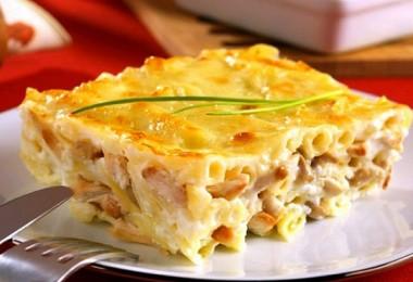 Курица с макаронами в духовке: рецепты с грибами, сыром