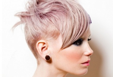 Ассиметричные стрижки на короткие волосы