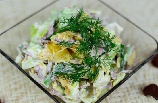 «Мужские грезы» салат: рецепт с говядиной, картошкой