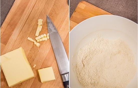 Масло поместим в морозильную камеру