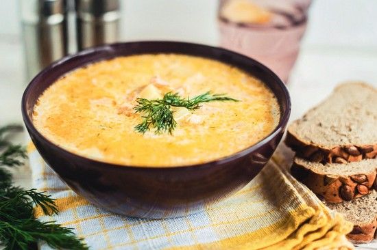 Суп из головы семги и хвоста: рецепты