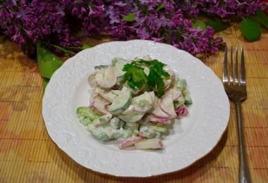 Салат «Козел в огороде»: рецепты с чипсами, корейской морковью