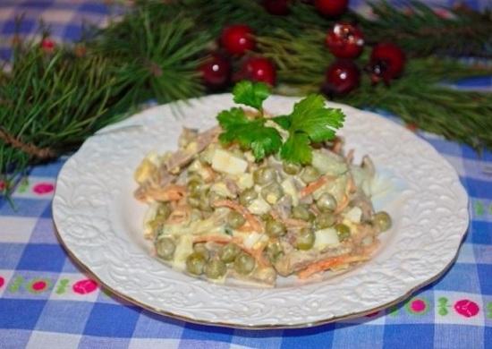 Изысканный салат на скорую руку